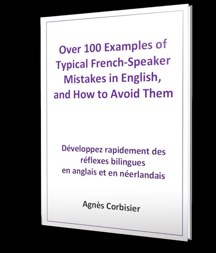 100 erreurs typiques des francophones en anglais
